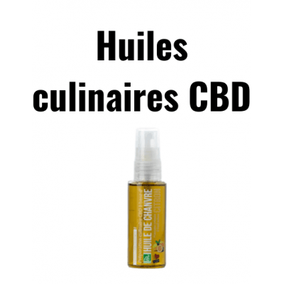 Huiles culinaires CBD   Rest In Tizz®